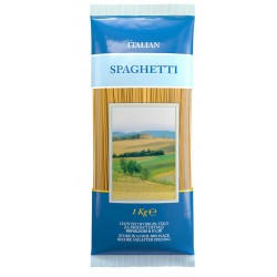 Italiensk pasta - Spaghetti - 4x1000 g