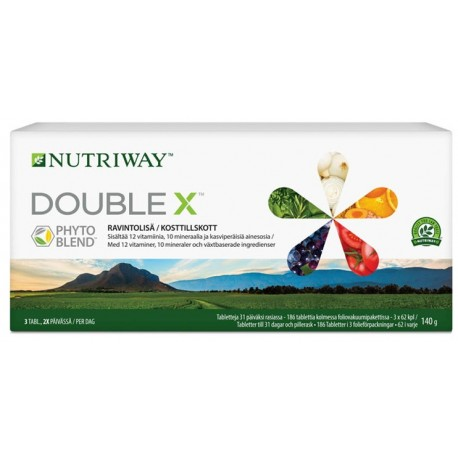 DOUBLE X™ Multivitaminer för en bättre livskvalitet